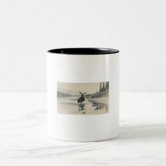 moose in wild mug