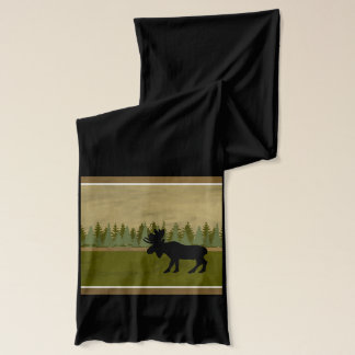 Moose Jersey Neck Wrap