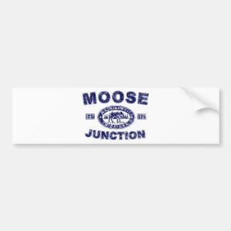 Moose-Junction-Distressed-[ Bumper Sticker