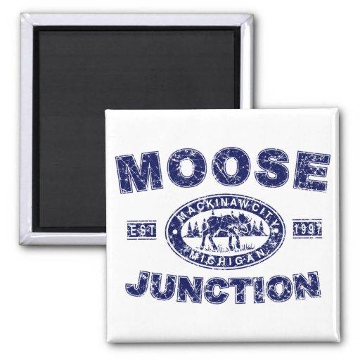 Moose-Junction-Distressed-[ Refrigerator Magnets