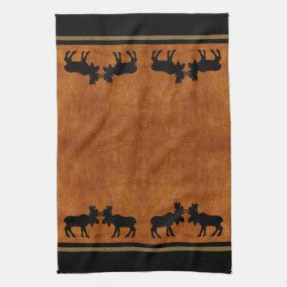 Moose Kitchen Hand Towel