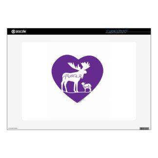 "Moose Lamb Love 15"" Laptop Decals"