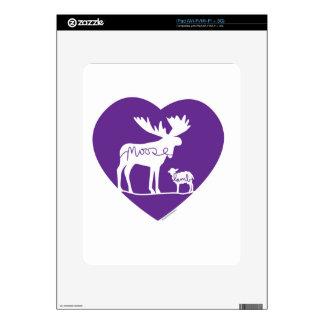 Moose Lamb Love iPad Decals