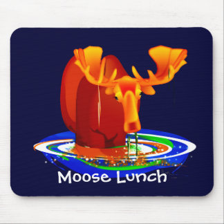 Moose Lunch Mouse Pad