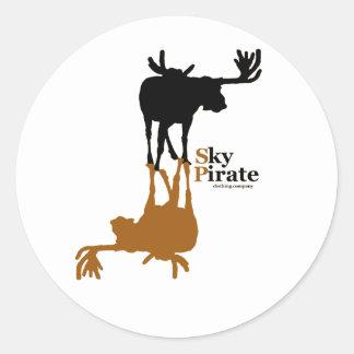 """""""Moose Made Me"""" Sticker Sheet"""