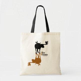 """Moose Made Me"" Tote Bag"