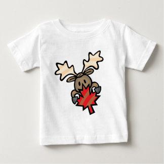 Moose & Maple Leaf Baby T-Shirt