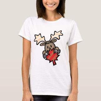 Moose & Maple Leaf T-Shirt