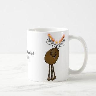 Moose Menora gift mug! Coffee Mug