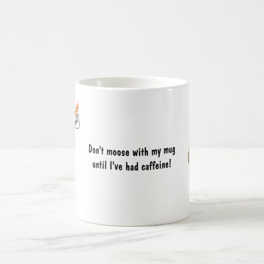 Moose Menora gift mug! Hanukkah mug. Coffee Mug