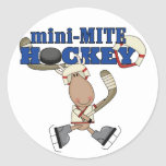 Moose Mini Mite Hockey Tshirts and Gifts Stickers