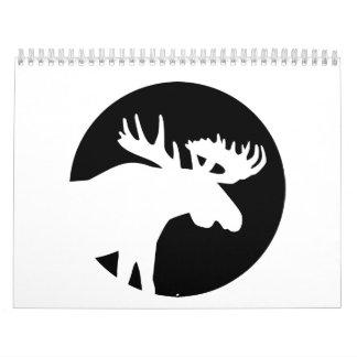 Moose moon calendar