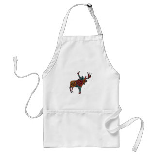 MOOSE OF COLORS ADULT APRON