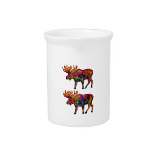 MOOSE OF TWO DRINK PITCHER