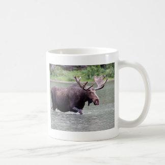 Moose on a Mission Coffee Mug