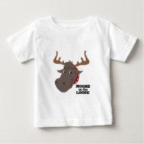 Moose On Loose Baby T-Shirt