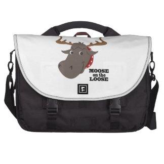 Moose On Loose Laptop Commuter Bag