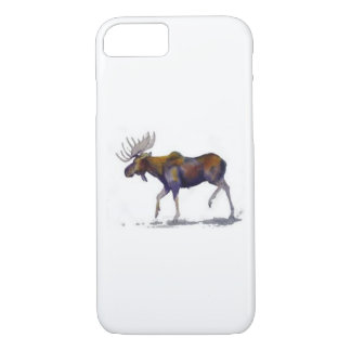 MOOSE ON MY MONEY MONEY ON MY MOOSE iPhone 8/7 CASE