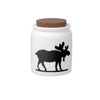 Moose on the Loose Candy Dish