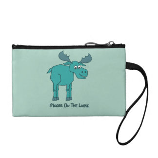 Moose on the Loose Coin Wallet