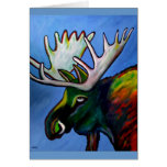 """""""Moose On The Loose"""" Greeting  Card"""