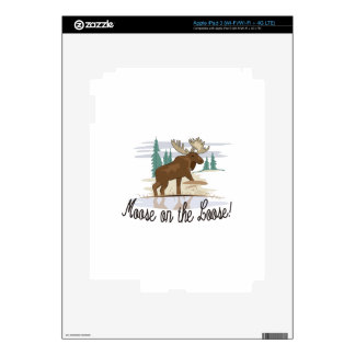 Moose on the Loose! iPad 3 Decals