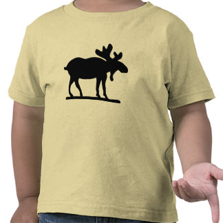 Moose on the Loose T Shirts