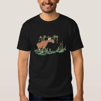 Moose on the loose tshirts