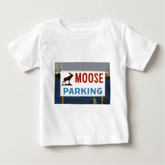 Moose Parking Sign Infant's Clothing Baby T-Shirt