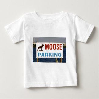 Moose Parking Sign Infant's Clothing Shirt