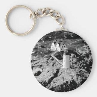 Moose Peak Lighthouse Keychain