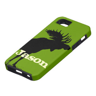 Moose Personalized iPhone iPhone 5 Covers