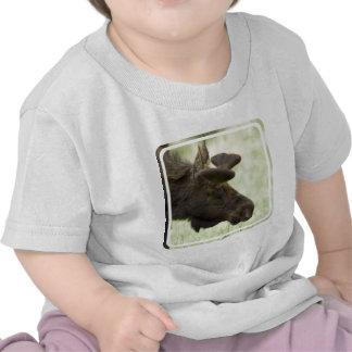 Moose Photo Baby T-Shirt