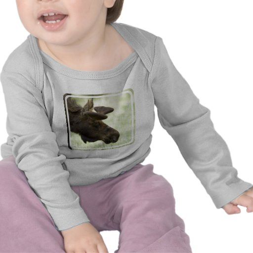 Moose Photo Infant Shirts