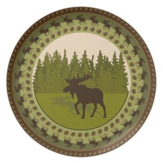 Moose Plate