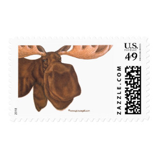 moose postage stamps