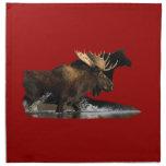 Moose Printed Napkin