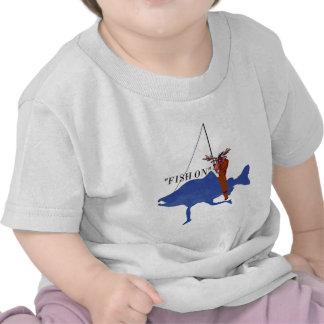 Moose Riding Salmon Shirt