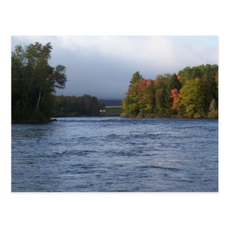 Moose River Maine Postcard