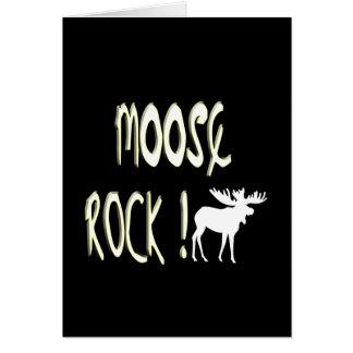 Moose Rock! Greeting Card