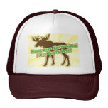 Moose Says You Are Closed! Trucker Hat