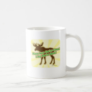 Moose Says You're Closed Coffee Mug