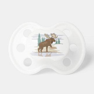 Moose Scene Pacifier