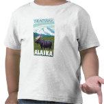Moose Scene - Skagway, Alaska T Shirts