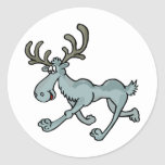 Moose Shirts and Gifts 16 Round Stickers