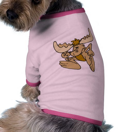 Moose Shirts and Gifts 42 Pet T Shirt