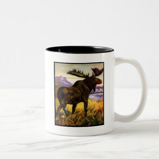 Moose Shirts and Gifts 63 Two-Tone Coffee Mug