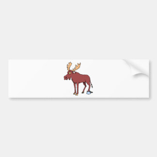 Moose Shirts and Gifts 70 Car Bumper Sticker