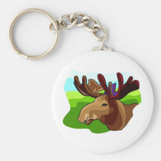 Moose Shirts and Gifts 90 Keychain