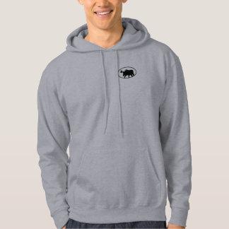 Moose Silhouette Hoodie